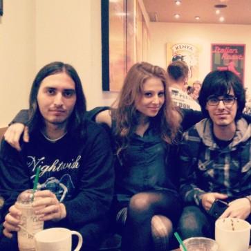 Con Carlos y Will